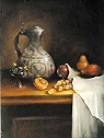 Dutch Old Master Urn and FruitPattern Packet