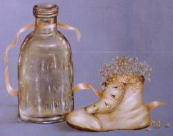 Baby Shoes and BottlePattern Packet