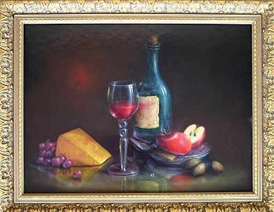 DVD: Wine & Cheese Still Life