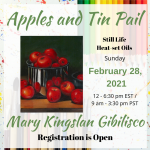 February 28: Sign up and order kit for Artful Webinar Online LIVE class  Deadline for ordering January 30, 2021