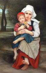 Bouguereau's Breton Brother and SisterLesson Packet
