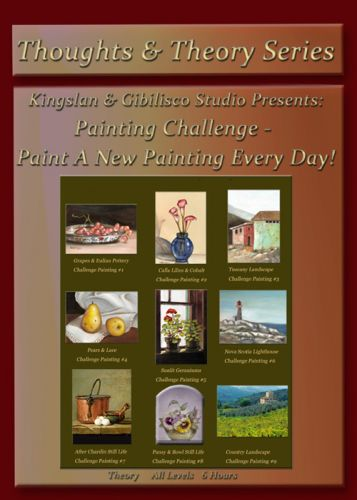 Painting A Day Challenge I on DVD & CD