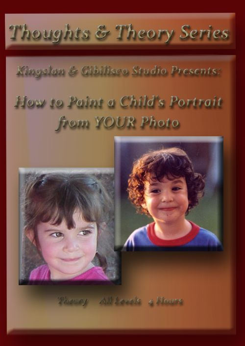 DVD: How to Paint a Child's Portrait from YOUR Photo