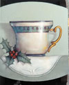 Christmas Tea Cup Pattern Packet