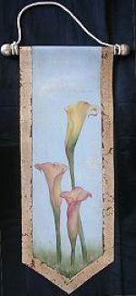 Calla Lilies on BannerPattern Packet