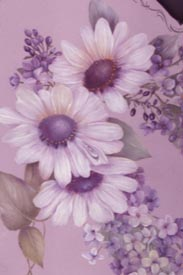 Daisy & French Lilacs