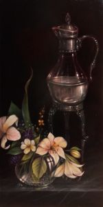 Lesson or DVD: Dutch Old Master with Decanter and Lilies