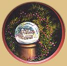 Christmas House Water GlobePattern Packet