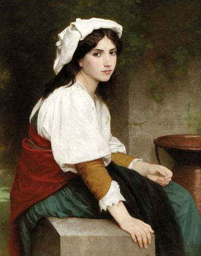 Lesson Plan After Bouguereau's The Girl at the Well