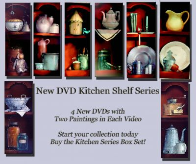 DVD Kitchen Shelf Series Collection