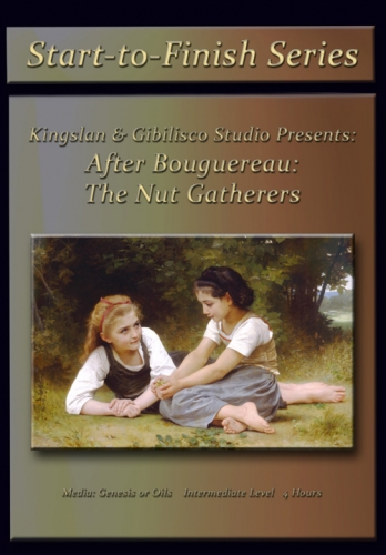 After Bouguereau's The Nut Gatherers Online Class