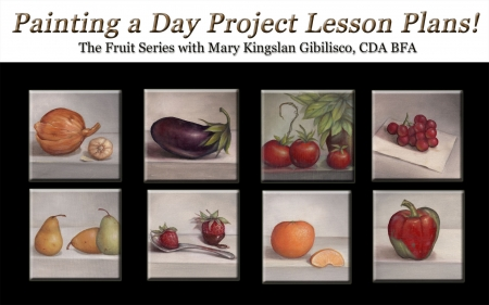 Free! Painting a Day ProjectFruit SeriesPattern Packet