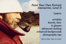 Paint a Portrait from Your Photo Level IIOnline Classroom