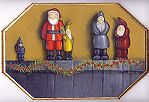Christmas Santas of the WorldPattern Packets