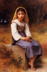 Bouguereau's Meditation Girl Lesson Packet
