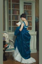 In the Library after Auguste Toulmouche Lesson Plan