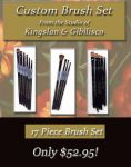17 piece Majestic Brush Set